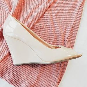 New! Old Navy Peeptoe Wedge